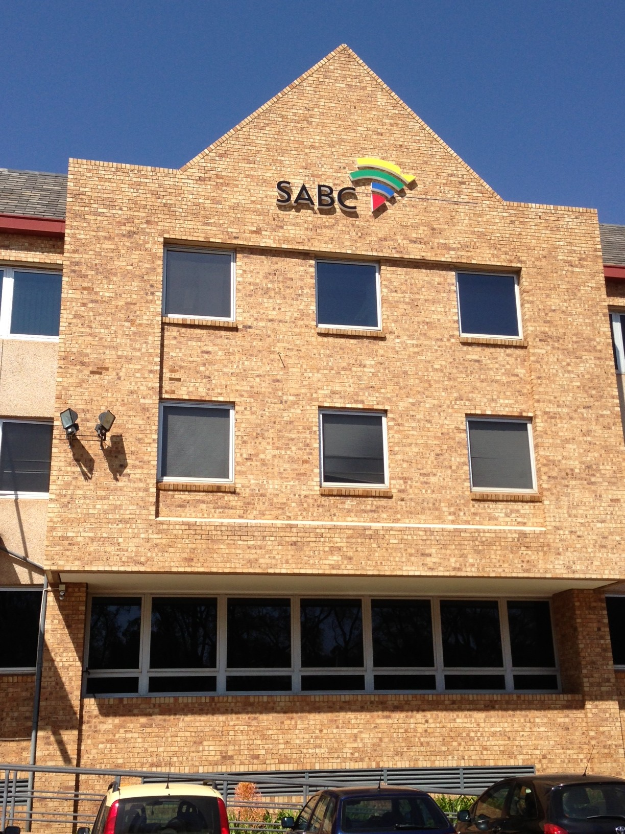 Front of the SABC