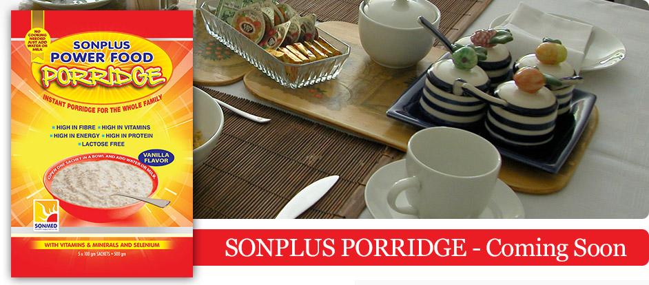 SONPLUS PORRIDGE